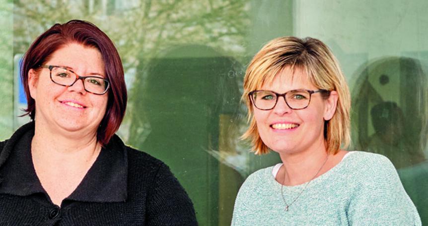 Manuela Kistler und Daniela Steinmann